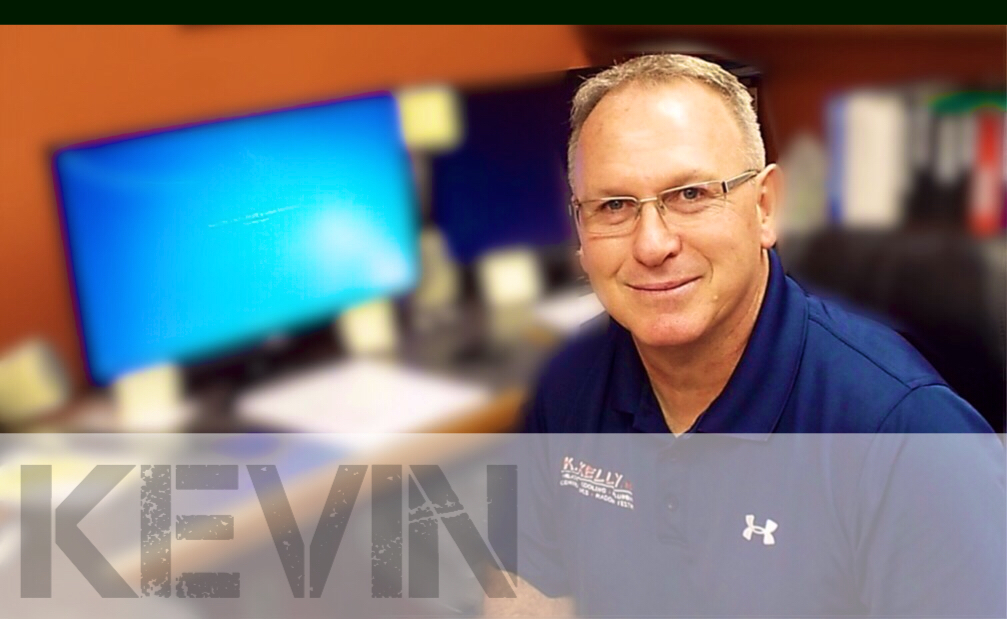 Kevin Kelly, owner K. Kelly, Inc.